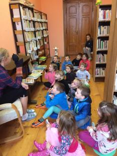 Na návštěvě v knihovně