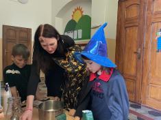V čarodějnické škole